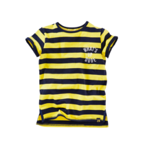 T-shirt Janko yellow/ midnight navy