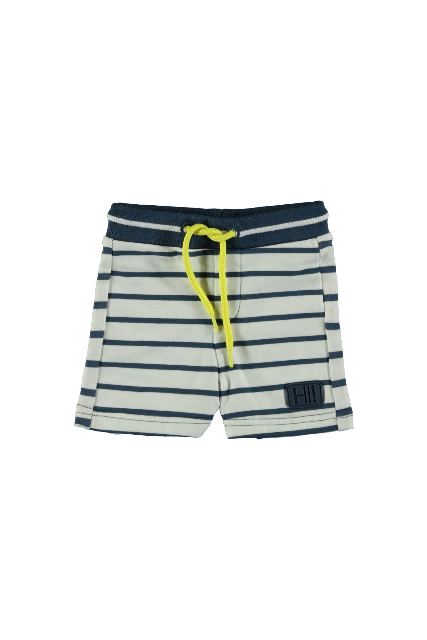 Bampidano Bampidano short y/d stripe navy