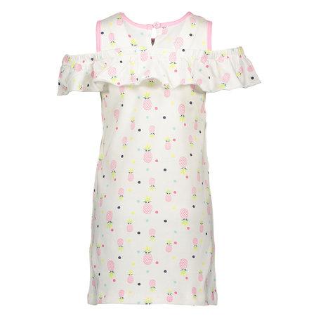 Bampidano Bampidano jurk sleeveless ao print pink