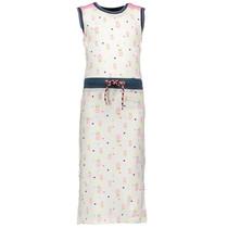 Maxi-jurk pink ao print