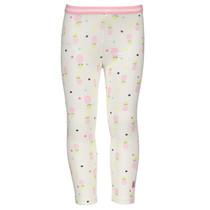 Legging ao print + elastic waist pink ao