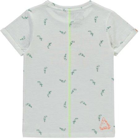 Quapi Quapi T-shirt Selian white tucan
