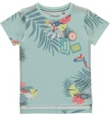 Quapi Quapi T-shirt Savian soft mint botanic