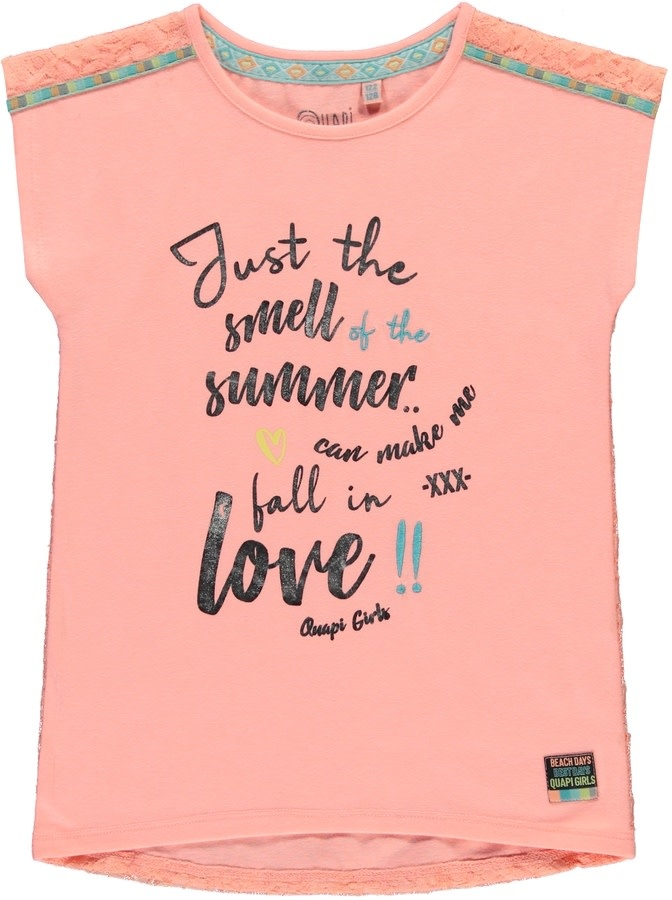 Quapi Quapi T-shirt Selin peach