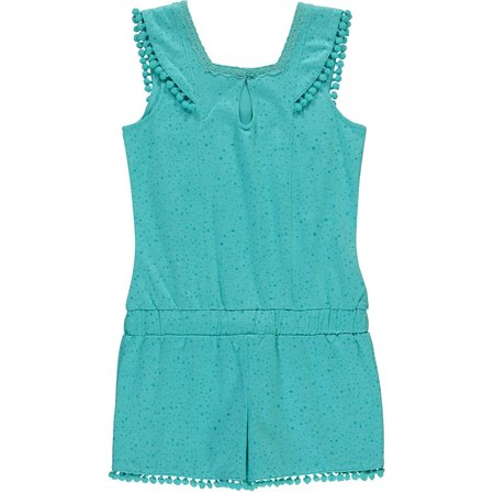 Quapi Quapi jumpsuit Saya summer green dot