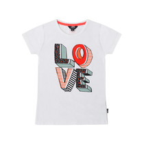 T-shirt love wht