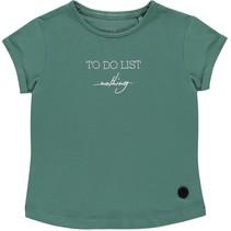 T-shirt Bruna teal green