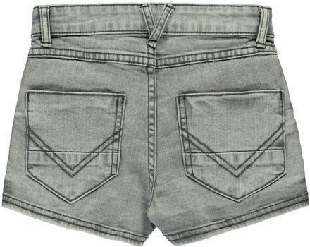 Levv short denim Byndinne light grey