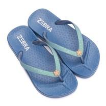 Zebra trends slippers blue