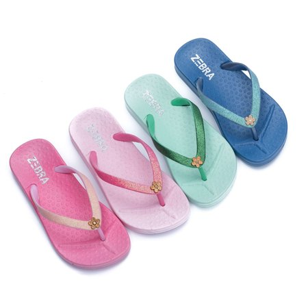 Zebra Trends Zebra trends slippers softpink