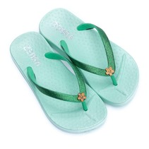 Zebra trends slippers mint