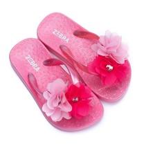 Zebra trends slippers flower hotpink