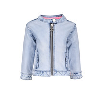 Spijkerjasje mini ice denim
