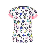 B.Nosy B.Nosy T-shirt with contrast print sleeves ao sprinkle