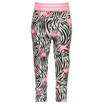 Legging mini white flamingo zebra ao