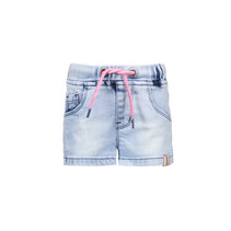 Short mini light denim