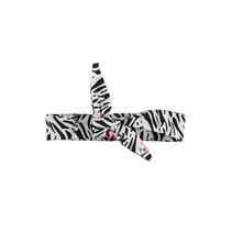Haarband mini white flamingo zebra ao