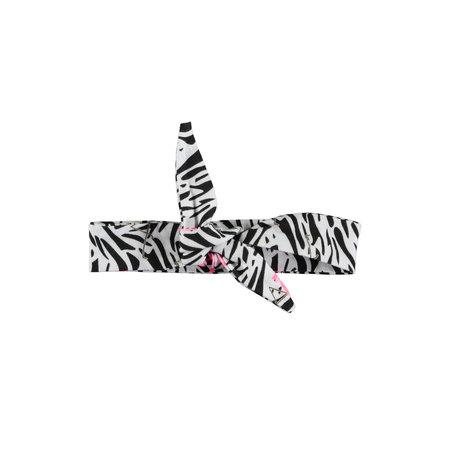 B.Nosy B.Nosy haarband mini white flamingo zebra ao