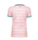 B.Nosy B.Nosy T-shirt white printed candy stripes