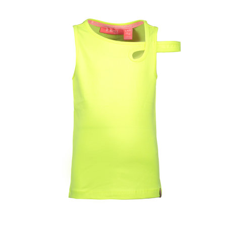 B.Nosy B.Nosy singlet with extra strap on arm electric yellow