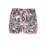 B.Nosy B.Nosy short woven beach white flamingo zebra ao