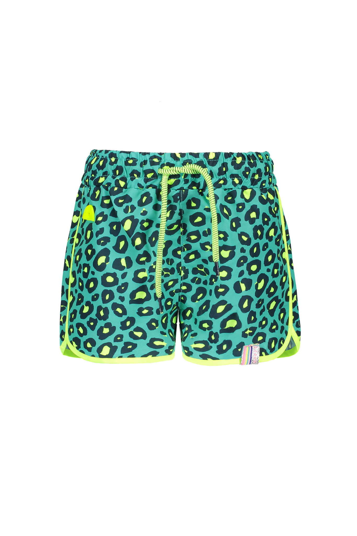 B.Nosy B.Nosy short woven beach hot turquoise panther ao midnight electric yellow