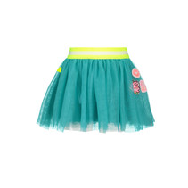 Rok netting hot turquoise