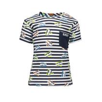 T-shirt ao bus on stripe