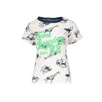 T-shirt ao white africa animals