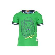 T-shirt lion grass green
