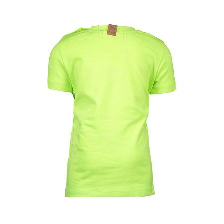 B.Nosy B.Nosy T-shirt garment dye neon yellow
