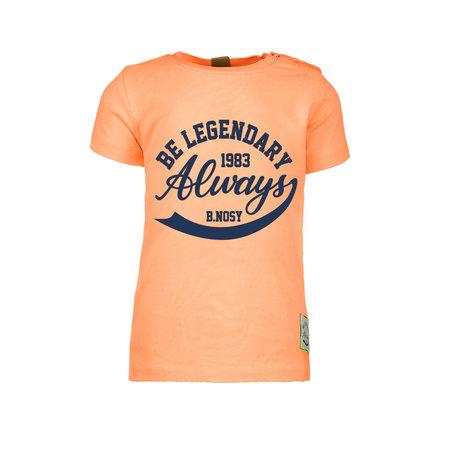 B.Nosy B.Nosy T-shirt garment dye neon orange