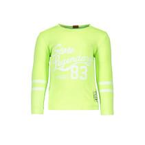 Longsleeve garment dye neon yellow