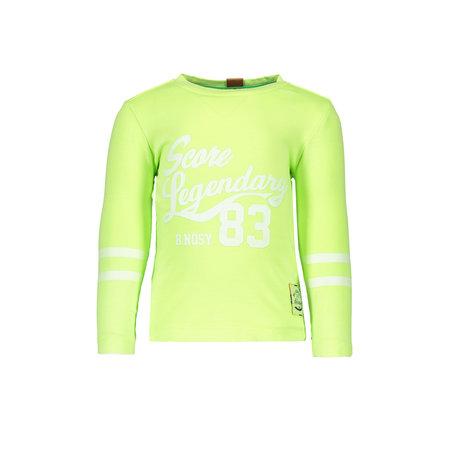 B.Nosy B.Nosy longsleeve garment dye neon yellow