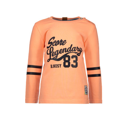 B.Nosy B.Nosy longsleeve garment dye neon orange