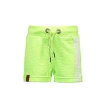 Short neon yellow