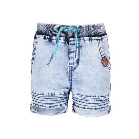 B.Nosy B.Nosy short with rope in waistband light denim