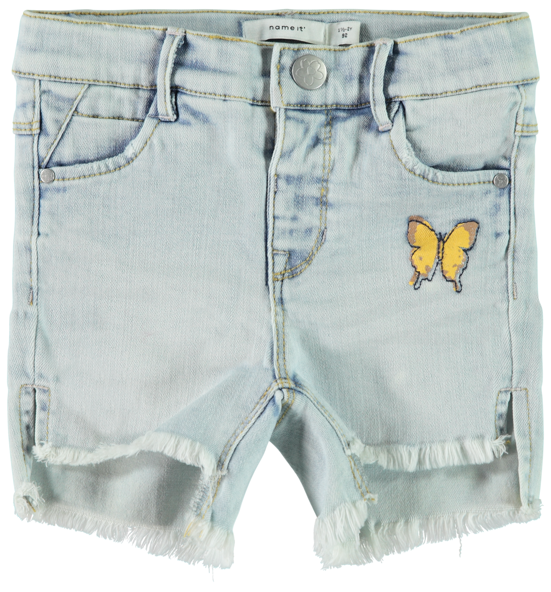 Name It Name It short Salli balikka light blue denim