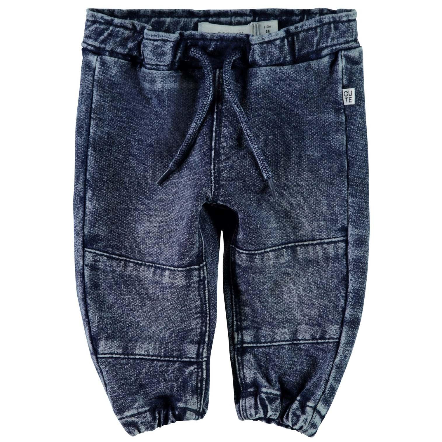 Name It Name It spijkerbroekje Romeo Banton dark blue denim