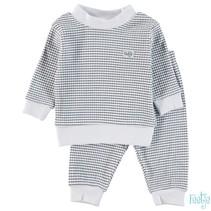 Pyjama wafel baby marine
