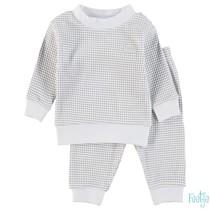 Pyjama wafel baby Grijs