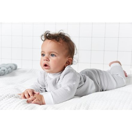 Feetje pyjama wafel baby Grijs