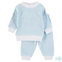 Pyjama wafel baby Azuur