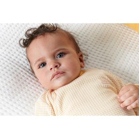 Feetje Feetje pyjama wafel baby Okergeel