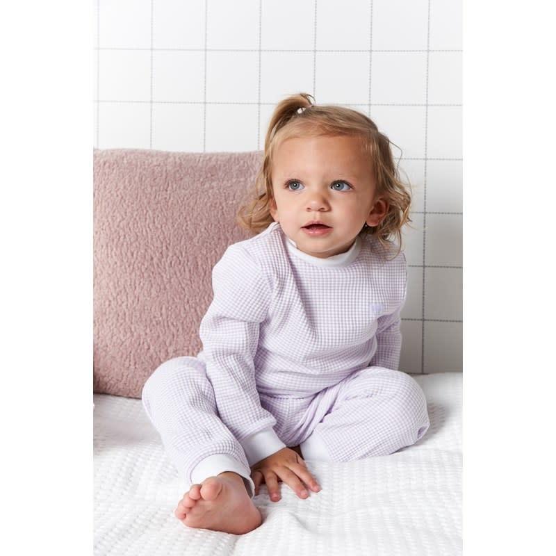 Feetje Babykleding.Feetje Pyjama Wafel Baby Lila Hippe Mensjes