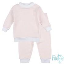 Pyjama wafel baby Zalm