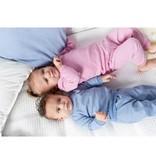 Feetje Feetje pyjama wafel baby Roze melange