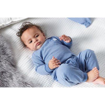 Feetje pyjama wafel baby Blue melange