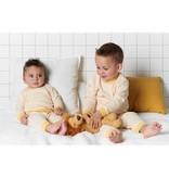 Feetje Feetje pyjama wafel kids Okergeel