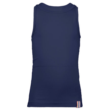 B.Nosy B.Nosy tanktop with different color binding midnight blue